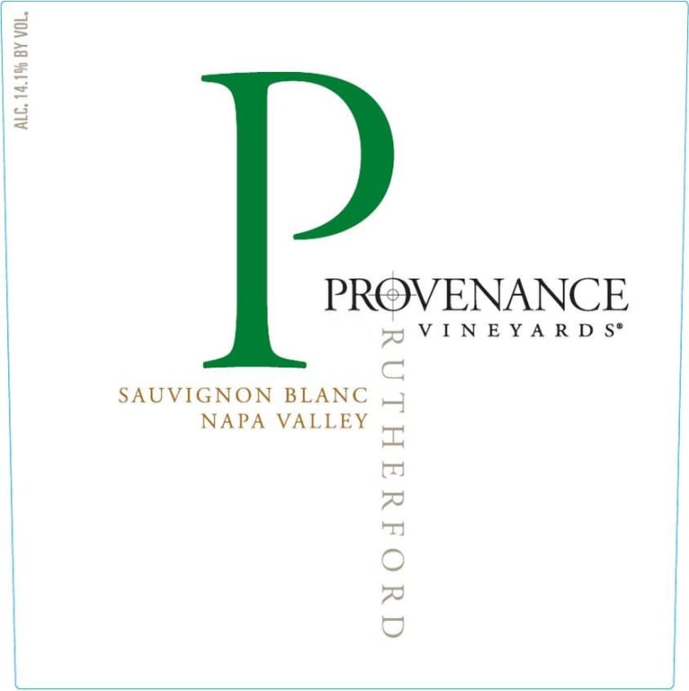 Provenance Vineyards Sauvignon Blanc 2017 Front Label