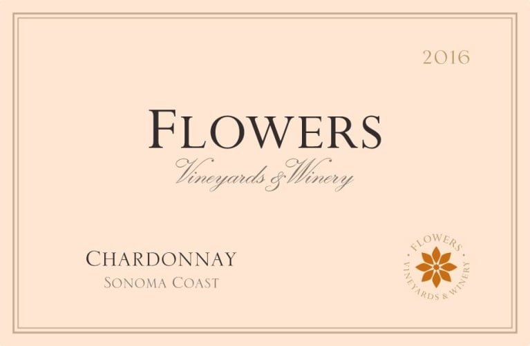 Flowers Sonoma Coast Chardonnay 2016 Front Label