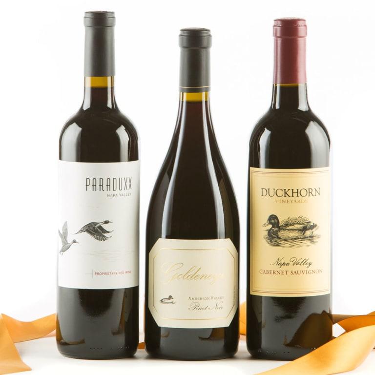 Duckhorn Vineyards 90+ Point Wine Gift Set