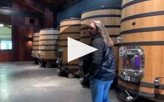 Angeline Martin Ray and Angeline Winery Tour Winery Video
